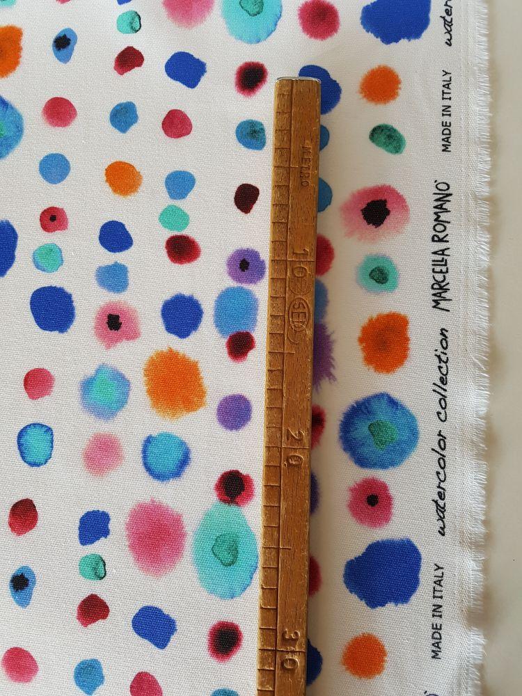 tessuto canvas cotone stampato made in italy abbigliamento donna