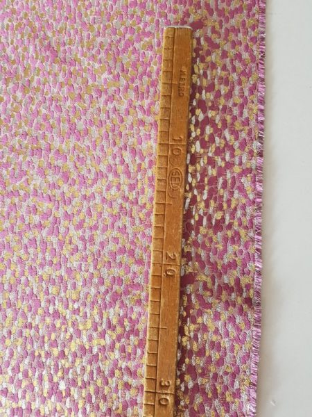 tessuto vendita al metro jacquard lame made in italy